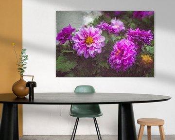 Flora - Abstrakte digitale Malerei | MeinhardtART
