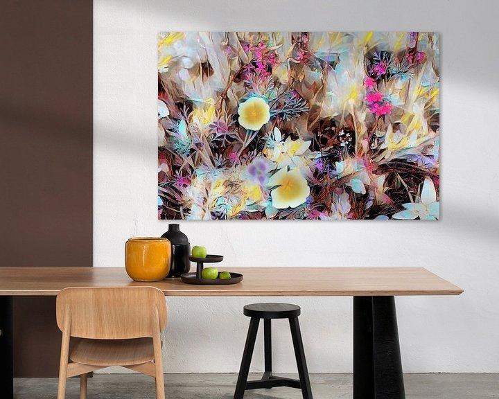 Beispiel: Blumenfeld Ölmalerei von Patricia Piotrak