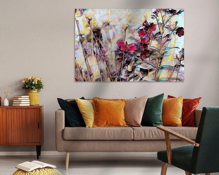 Beispiel: Blumenkomposition Ölmalerei von Patricia Piotrak
