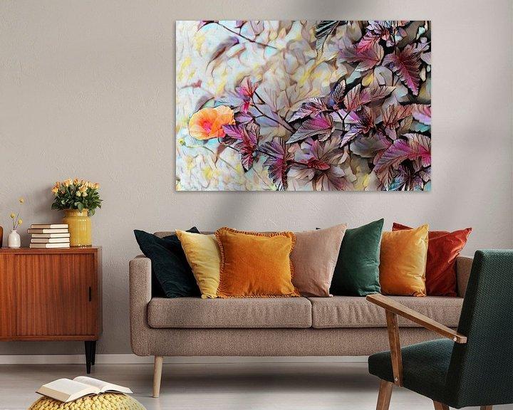 Beispiel: Herbst Ölmalerei von Patricia Piotrak