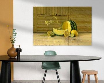 Nature morte en jaune