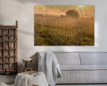 Märchenhafter Sonnenaufgang im Landschaft. von Shutterbalance