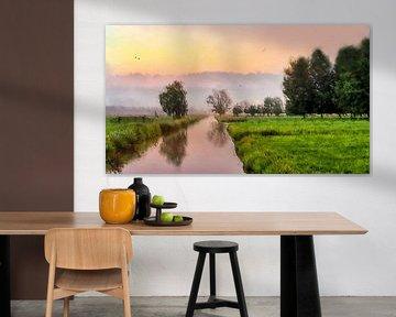 Landschaft Kunst-6 Öl-Look von Marcel Kieffer