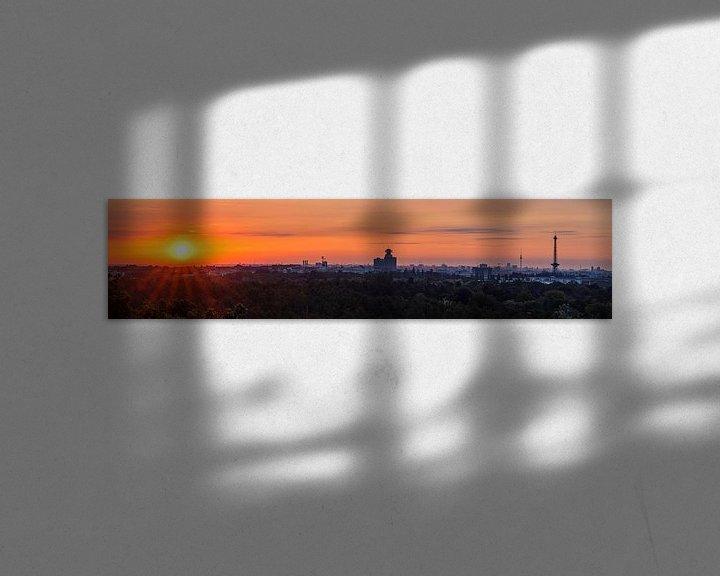 Impression: Lever du soleil à Berlin sur Frank Herrmann