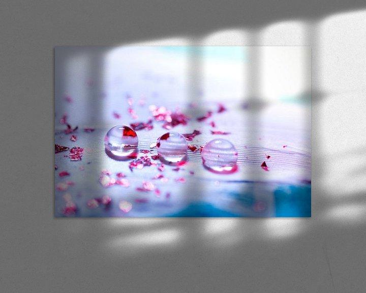 Sfeerimpressie: Licht als een veertje. van Esther Hendrikse