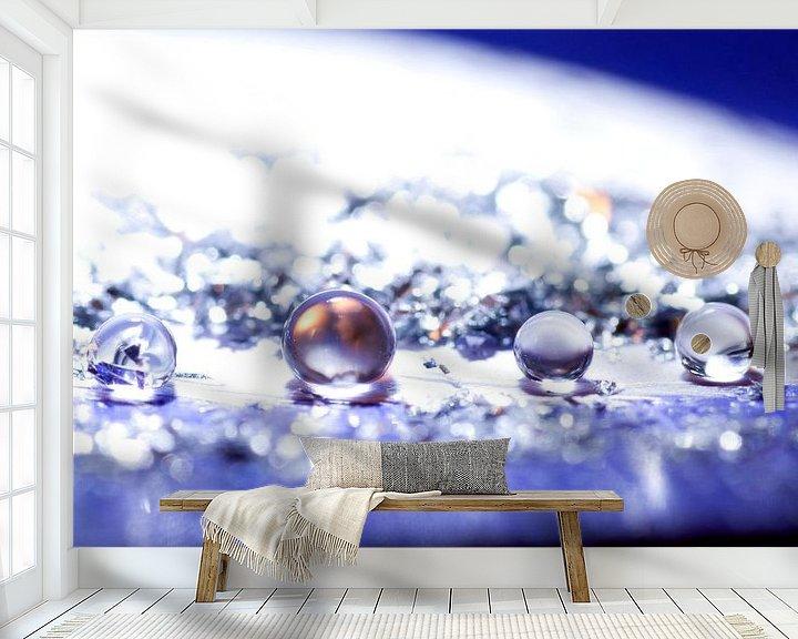 Sfeerimpressie behang: Klein maar fijn. van Esther Hendrikse