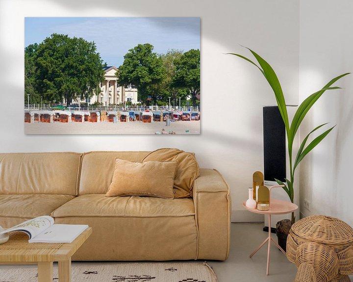 Sfeerimpressie: Villa Mare, Strandpromenade, Lübeck-Travemünde, Sleeswijk-Holstein, Duitsland, Europa van Torsten Krüger