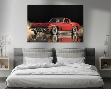 Chevrolet Corvette Stingray 427 Ein echter Sportwagen von Jan Keteleer