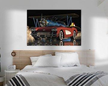 Chevrolet Corvette C1 Der legendäre Sportwagen von Jan Keteleer