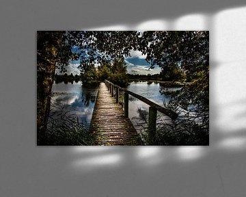 De Deelen brug van Harrie Muis
