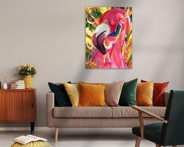 Als ik een flamingo was van Suzanne Groen