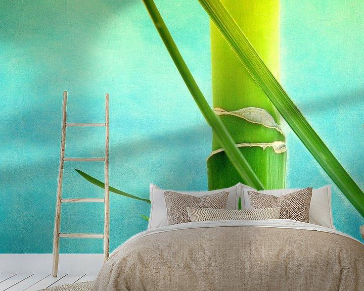 Sfeerimpressie behang: Bamboe van INA FineArt