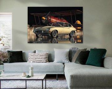 Jaguar E Type uit 1960 een schoonheid