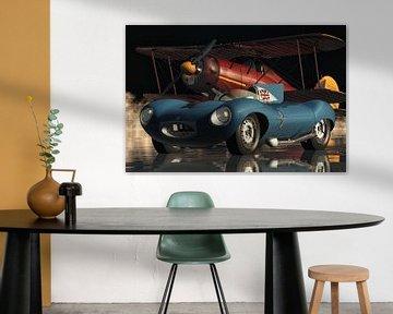 Jaguar Type D uit 1956 een echte sportwagen