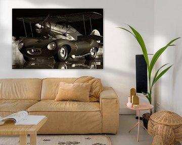 Jaguar Type D High Performance, stijlvol en mooi