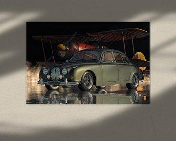 Jaguar MK2 - De Britse gezinsauto in de jaren zestig