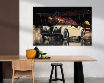 Jaguar XK 120 Een klassieke Britse sportwagen