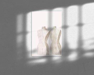 Abbildung der Büste von Emily Pama