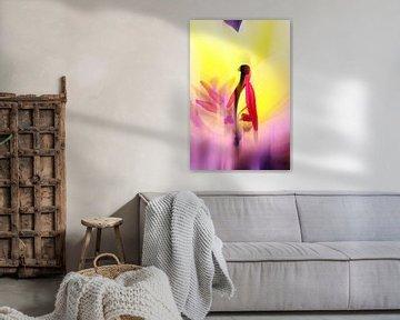 Tulpe Abstrakt van Markus Wegner