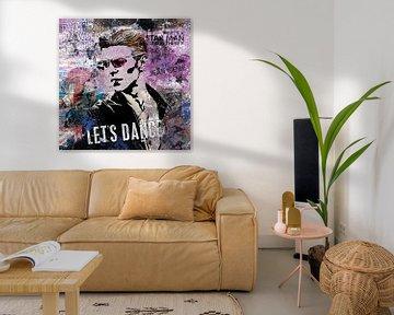 Bowie Let's Dance van Rene Ladenius Digital Art