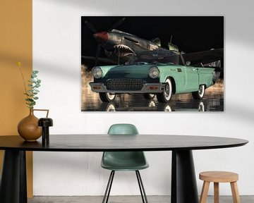 De Ford Thunderbird sportwagen uit de vijftiger jaren van Jan Keteleer