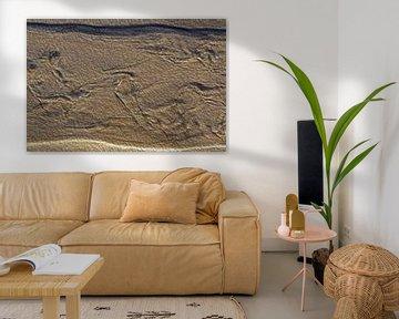 Zand kunst van Ronald Smits