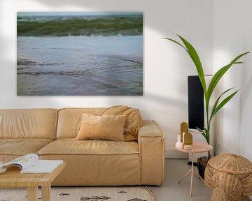 Zeewater - Schilderij
