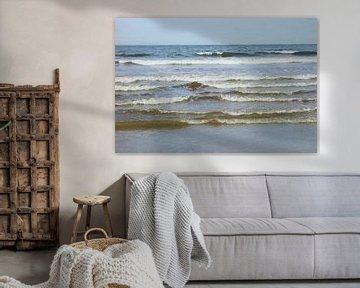 Lagen Golven van de Noordzee - II - Schilderij