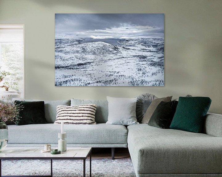 Beispiel: Fjordlandschaft von Michael Wolf