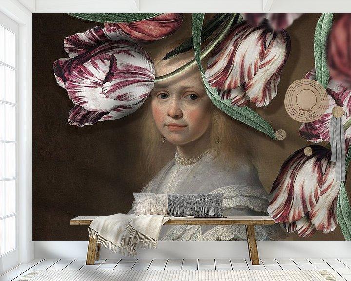 Impression: Portret van een Meisje - de Tulpen Editie sur Marja van den Hurk
