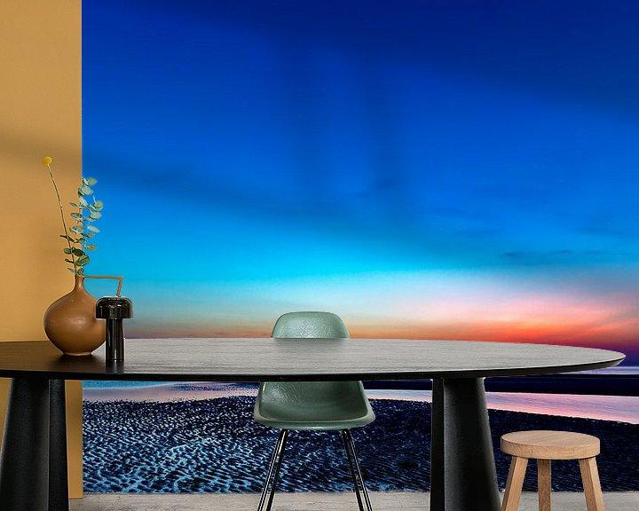 Beispiel fototapete: Juist nach Sonnenuntergang von Dirk Rüter