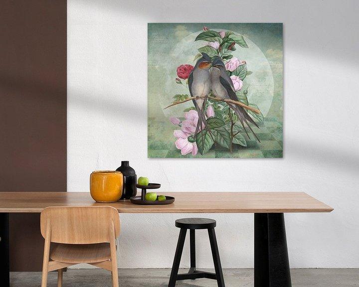 Impression: LoveBirds sur Marja van den Hurk