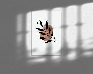 Sparkly Leaf Stamp van Walljar