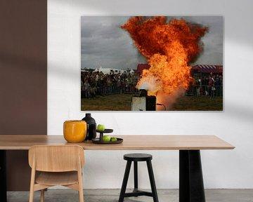 Vlam in de pan von Mark Franken