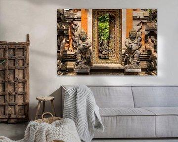 Bali House Ingang van Peter Schickert