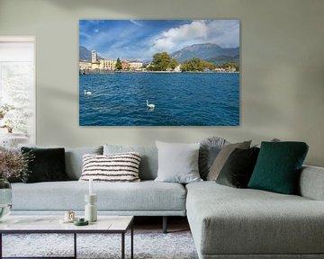 Riva del Garda am Gardasee,Italien von Peter Eckert