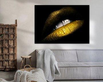 Golden lips van Bert Hooijer