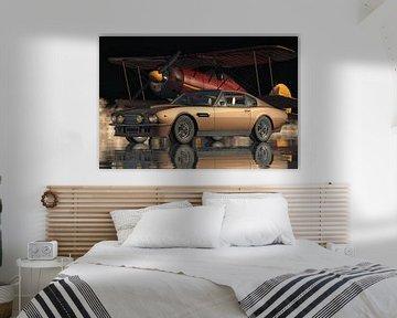Aston Martin V8 Vantage ein Sportwagen aus den siebziger Jahren