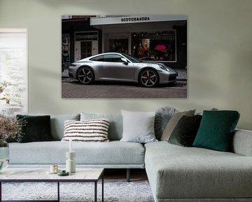 Silberner Porsche 991 von Koen Verburg