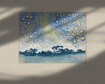 Paysage avec étoiles, Henri-Edmond Cross