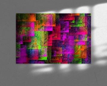 Abstractart : Harmonie sur Michael Nägele