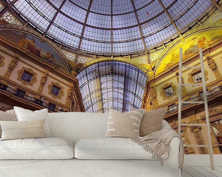 Beispiel fototapete: Galleria Vittorio Emanuele II von Patrick Lohmüller