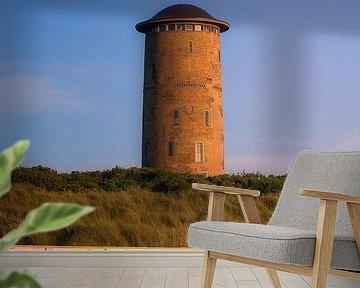 Domburg Wasserturm im Sommerlicht von Thom Brouwer