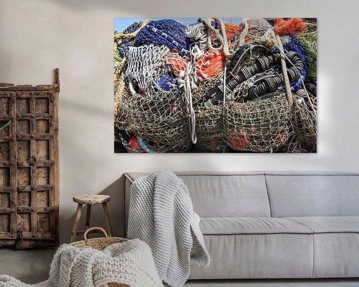 Beispiel: Fischernetze von Yvonne van der Meij