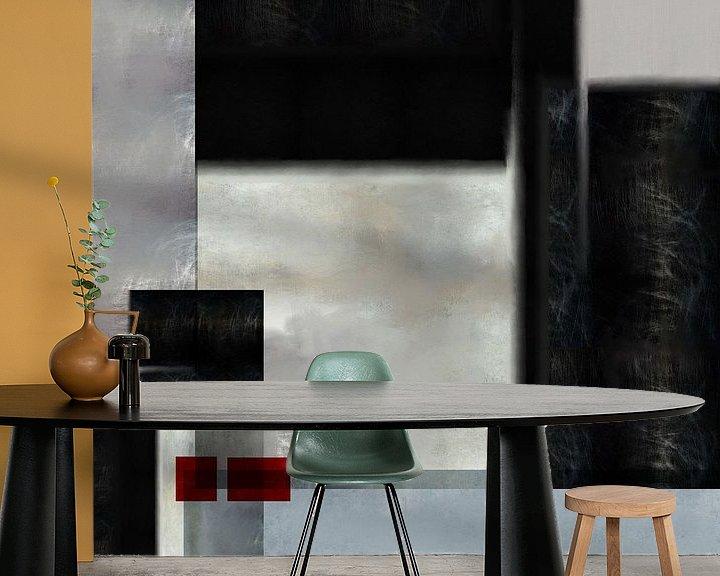 Sfeerimpressie behang: De stichting van Roberto Moro