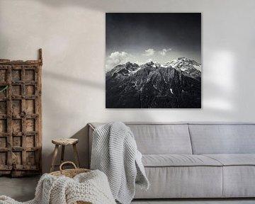 Majestueuze Alpen van Dirk Wüstenhagen