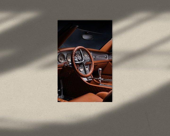 Sfeerimpressie: Spyker C8 Spyder Interior van Thomas Boudewijn