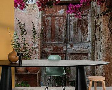 Houte deur, Italy van Anne Verhees