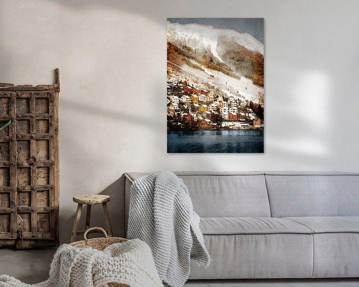 Impression: Norvège Odda paysage #Norvège sur JBJart Justyna Jaszke