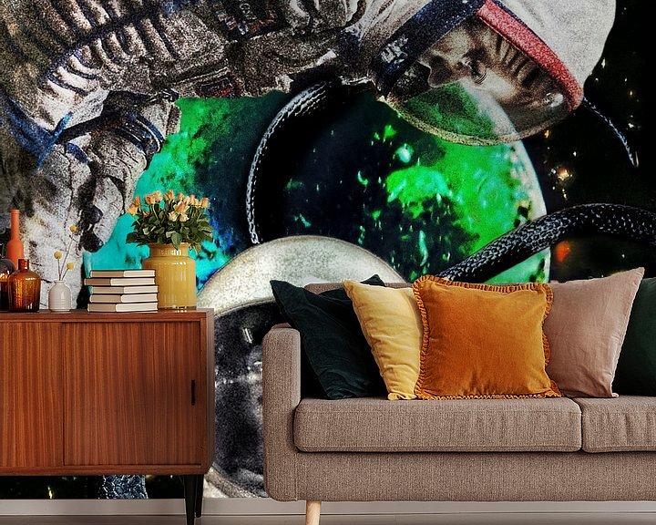 Sfeerimpressie behang: Leaving paradise van Ruben van Gogh
